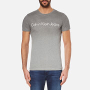 Calvin Klein Men's Tear Regular Fit T-Shirt - Silver Scone