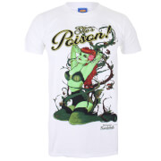 DC Bombshells Mens Poison Ivy T-Shirt - Wit
