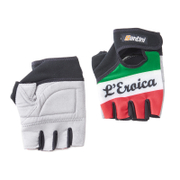 Santini Italia Eroica Race Gloves - Black