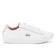 Lacoste Women's Carnaby Evo Court Trainers - White/White