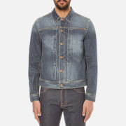 Nudie Jeans Men's Sonny Trucker Jacket - Blue Friend