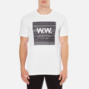 Wood Wood Men's Square T-Shirt - White