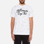 Billionaire Boys Club Men's Galaxy Astro Short Sleeve T-Shirt - White
