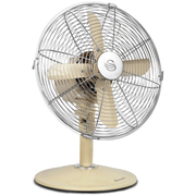 Swan SFA1010CN Retro 12 Inch Desk Fan - Cream