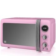 Swan SM22030PN 800W Digital Microwave - Pink