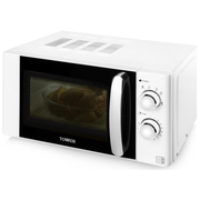 Tower T24009W 800W Microwave - White