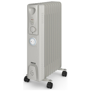 Pifco P43004YT 2000W Oil Filled Radiator with Timer - Multi