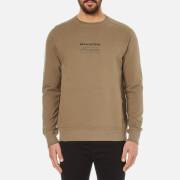 Maharishi Men's Miltype Crew Neck Sweatshirt - Maha Olive