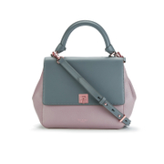 Ted Baker Women's Chantel Trapeze Large Tote Bag - Gunmetal