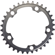 AbsoluteBLACK 110BCD 5 Bolt Spider Mount Oval Chain Ring (Training)