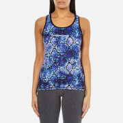 Superdry Women's Core Gym Vest - Purple Python