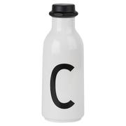 Design Letters Water Bottle - C