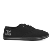 Henleys Men's Stash Canvas Pumps - Black