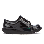 Kickers Kids' Kick Lo Patent Shoes - Black