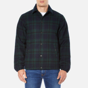 Edwin Men's Coach Jacket - Black Watch Tartan
