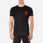 Edwin Men's Red Dot Logo 2 T-Shirt - Black