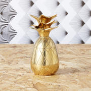 Pineapple Small Trinket Pot/Shot Glass - Matt Brass