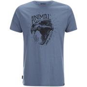 Animal Men's Wild T-Shirt - Cadet Navy Marl
