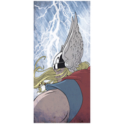 Thunder God Thor Inspired Fine Art Print - 16.5