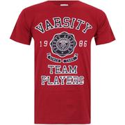 Varsity Team Players Men's Needle & Thread T-Shirt - Red