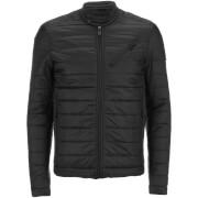 Threadbare Men's Biker Jacket - Black