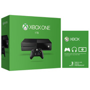 Xbox One 1TB Console - Includes 3 Month Xbox Live
