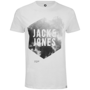 Jack & Jones Men's Core Atmosphere T-Shirt - Blanc De Blanc