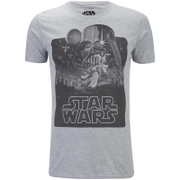 Star Wars Men's New Hope Mono T-Shirt - Sport Grey