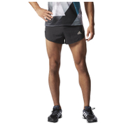 adidas Men's Adizero Split Running Shorts - Black