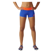 adidas Women's Stella Sport Workout Training Shorts - Blue