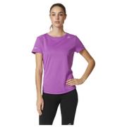 adidas Women's Sequencials Climalite Running T-Shirt - Purple