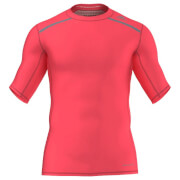 adidas Men's Techfit Chill Training T-Shirt - Red