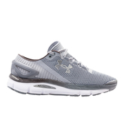 Under Armour Men's SpeedForm Gemini 2.1 Running Shoes - Steel/White/Silver