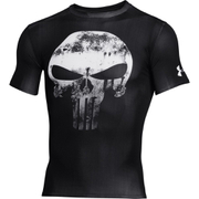 Under Armour Men's Alter Ego Punisher Short Sleeve Compression T-Shirt - Black