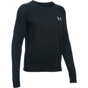 Under Armour Women's Favourite Fleece Crew Sweatshirt - Black