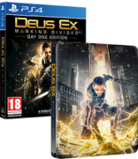 Deus Ex: Mankind Divided Limited Edition Steelbook