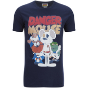 Danger Mouse Men's T-Shirt - Navy
