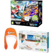 Wii U Mario Kart 8 + Splatoon + Wii Fit U Pack