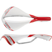 Selle San Marco Mantra Saddle - White/Red