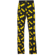 DC Comics Batman Men's Logo Lounge Pants - Black