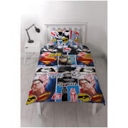 Batman vs. Superman Clash Rotary Duvet Set