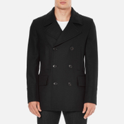 PS by Paul Smith Men's Double Breasted Coat - Navy