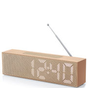 Lexon Titanium Alarm Clock - Copper