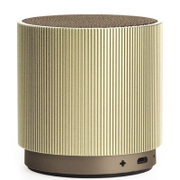 Lexon Fine Rechargeable Bluetooth Speaker - Gold