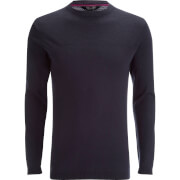 Dissident Men's Stelios Crew Neck Jumper - Dark Navy