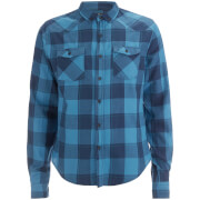 Smith & Jones Men's Exedra Check Shirt - Blue Sapphire