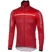 Castelli Velocissimo Jacket - Red