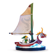 Link on The King of Red Lions Figurine (The Legend of Zelda: The Wind Waker) - Exclusive Edition