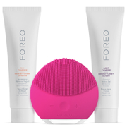 FOREO Holiday Cleansing Collection - (LUNA Mini 2) Fuchsia (Worth £157)
