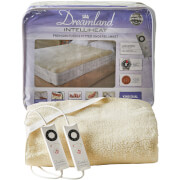 Dreamland Sleepwell Intelliheat Soft Fleece Fitted Electric Under Blanket - Cream - King Dual